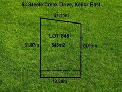 Lot 845, 53 Steele Creek Drive, Keilor East, Vic 3033