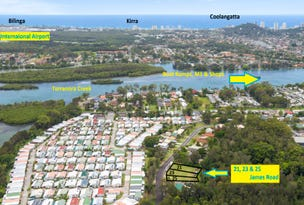 21,23 and 25  James Road, Tweed Heads South, NSW 2486