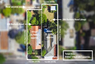 286-288 Barkers road Road, Hawthorn, Vic 3122
