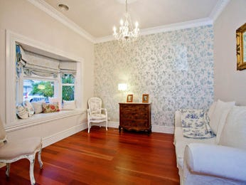 Blue living room idea from a real Australian home - Living Area photo 523629