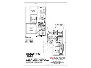 Regatta 2920 - floorplan