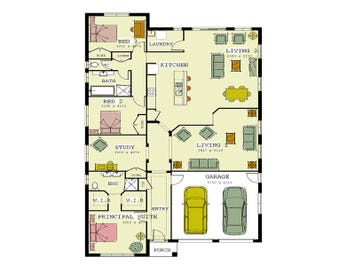 The Macquarie 240 - floorplan