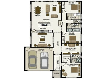 Regatta 230 - floorplan