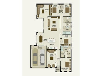 The Meridian 240 - floorplan
