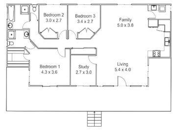 Blackbutt 184 - floorplan