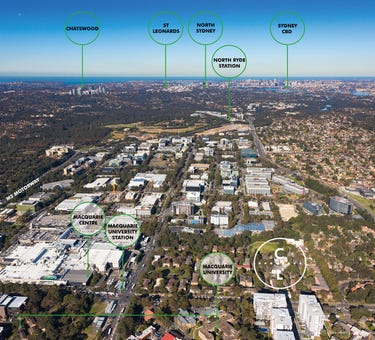 Lachlan Avenue & Cottonwood Crescent, Macquarie Park, NSW 2113