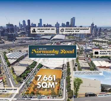 253-273 Normanby Road, South Melbourne, Vic 3205