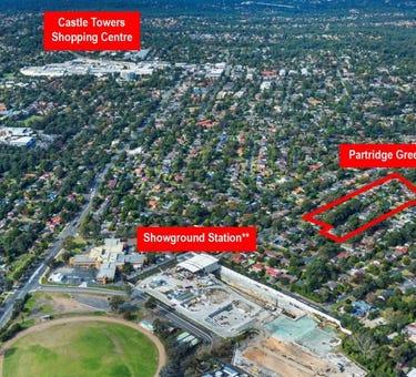 3-7 Ashford Avenue, 17-39 Middleton Avenue & 12-28 Partridge Avenue, Castle Hill, NSW 2154