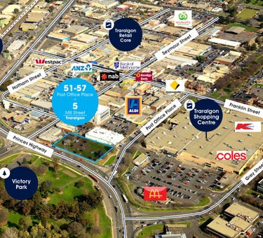 51-57  Post Office Place & 5 Mill Street, Traralgon, Vic 3844