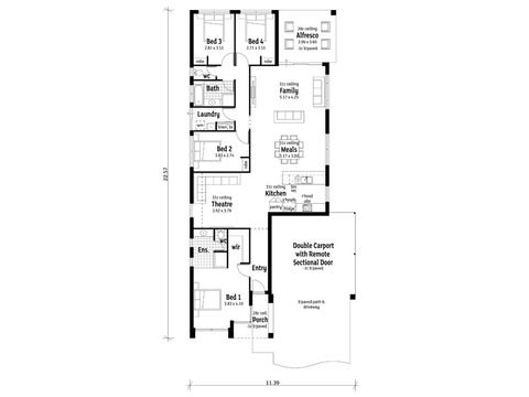The Quay - floorplan