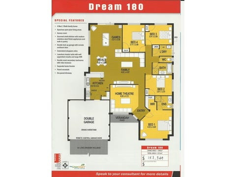 Dream 220 - floorplan