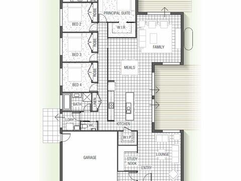 Mimosa 1530 N01 - floorplan