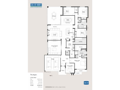 The Aspen - floorplan