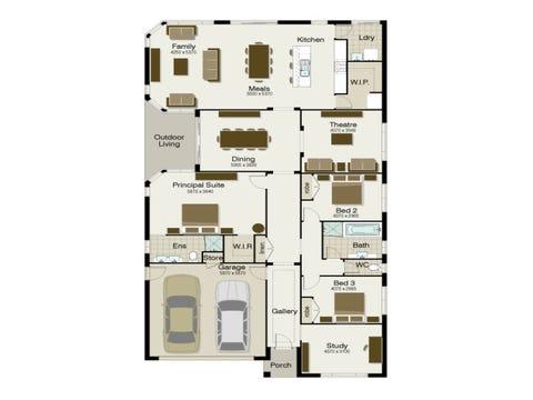 Clareville 270 - floorplan