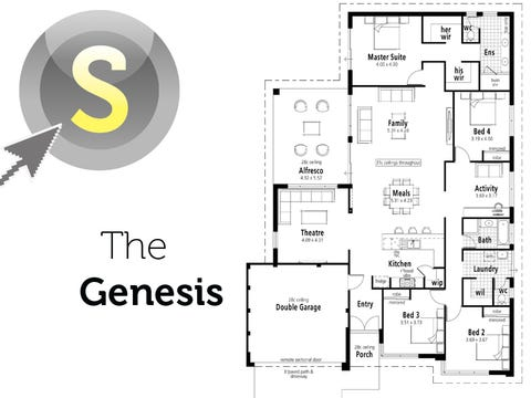 The Genesis - floorplan