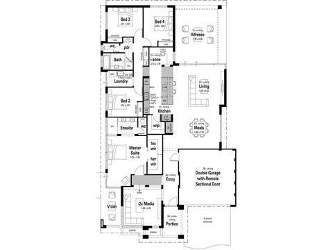 The Indulgence - floorplan