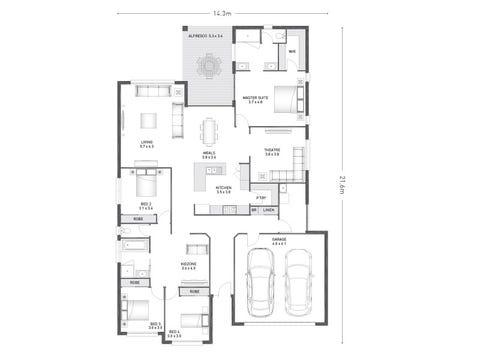 Bradfield 28 - floorplan