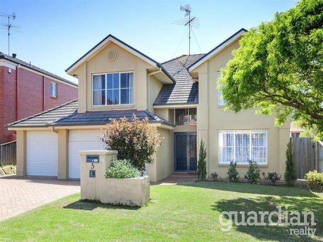 5 Ashburton Court, Kellyville, NSW 2155