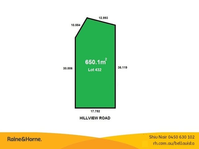 Lot 432 Hillview Road, Kellyville, NSW 2155
