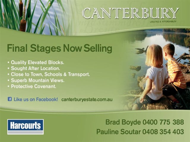Stage 7A Canterbury Estate, Drouin, Vic 3818