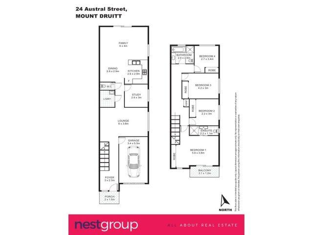 24 and 24A Austral Street, Mount Druitt, NSW 2770