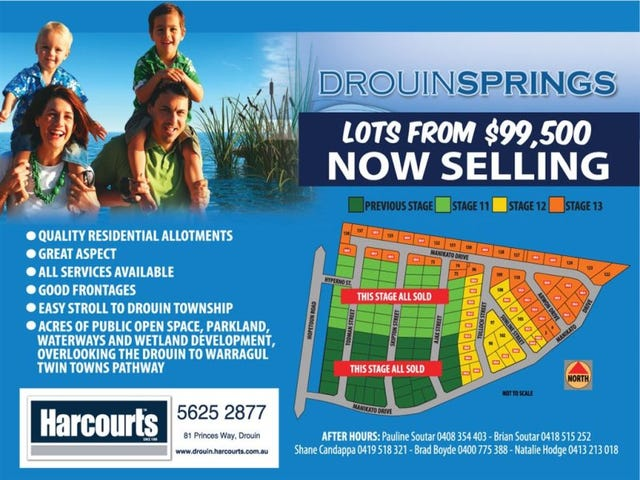 S 12 & 13 Drouin Springs Estate, Drouin, Vic 3818
