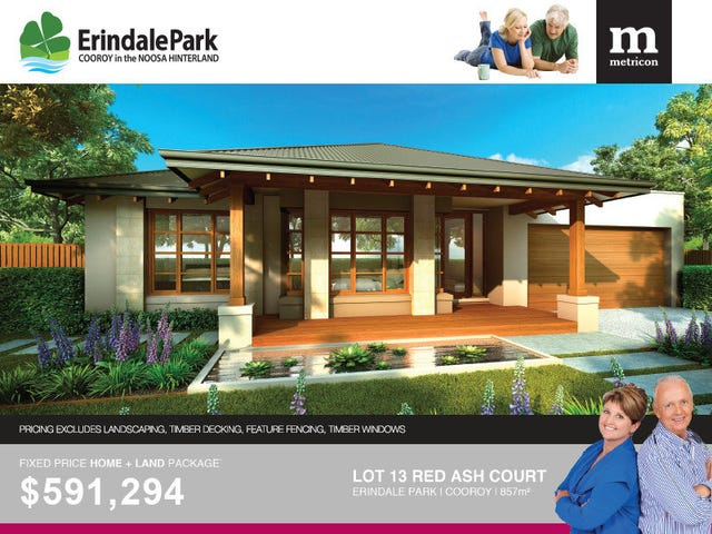 Lot 13 Red Ash Court - Erindale Park, Cooroy, Qld 4563