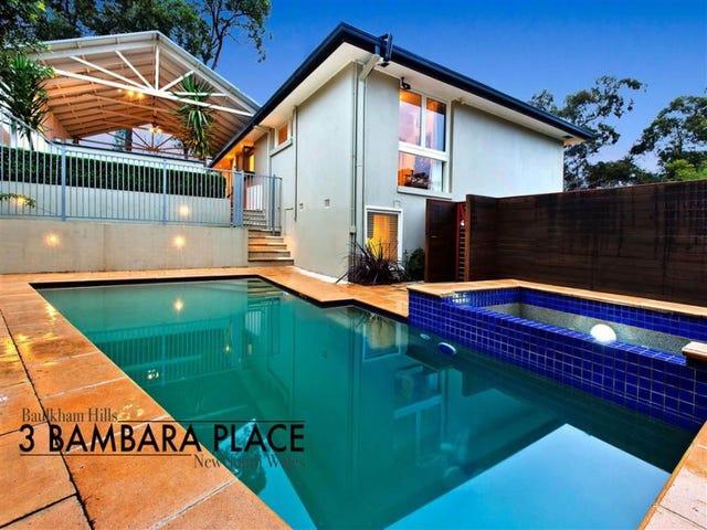 3 Bambara Place, Baulkham Hills, NSW 2153