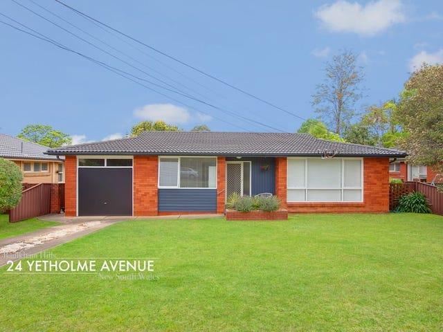 24 Yetholme Avenue, Baulkham Hills, NSW 2153