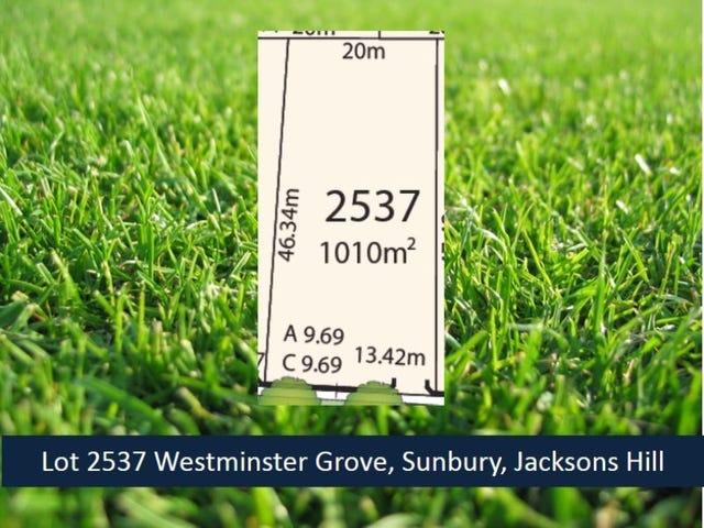 Lot 2537 Westminster Grove, Sunbury, Vic 3429