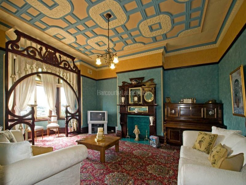 Ornate 'Victorian' interior of Werona, 33 Trevallyn Road, Trevallyn, Tas 7250