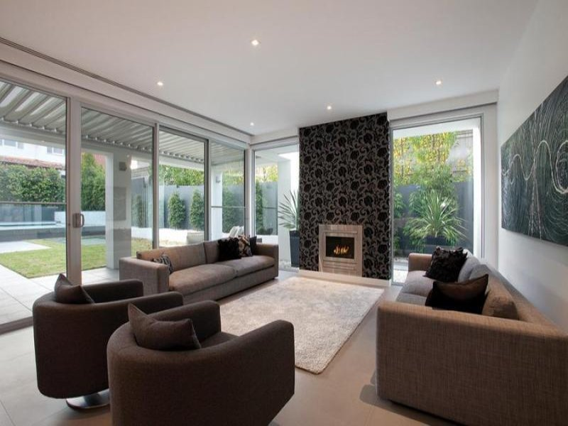 Black Living Room Idea From A Real Australian Home