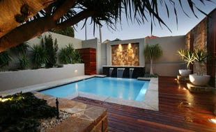 Houses Ideas Designs prefab modern homes design ideas open plan concept large deck Dream Swimming Pool