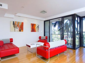 Red living room idea from a real Australian home - Living Area photo 8306093