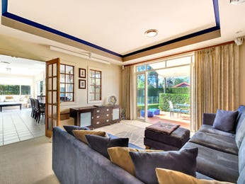 Blue living room idea from a real Australian home - Living Area photo 8655249
