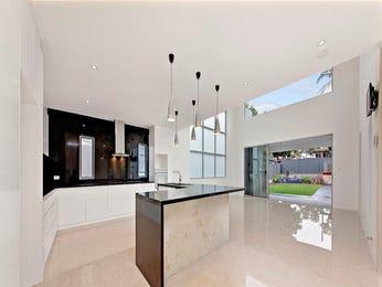 Modern open plan kitchen design using tiles - Kitchen Photo 8838517