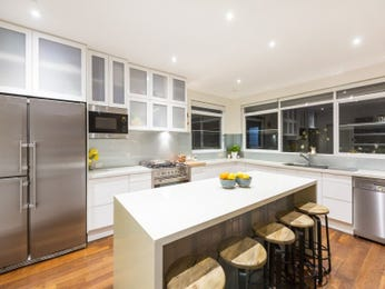 Floorboards in a kitchen design from an Australian home - Kitchen Photo 17059393