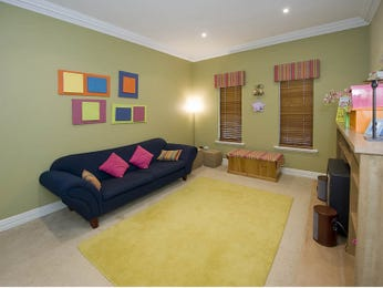 Green living room idea from a real Australian home - Living Area photo 498772