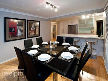 Black dining room idea from a real Australian home - Dining Room photo 1228702