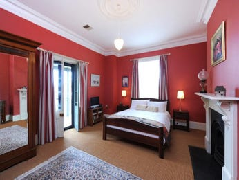 Red bedroom design idea from a real Australian home - Bedroom photo 1090635