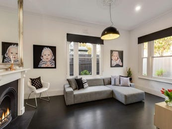 Black living room idea from a real Australian home - Living Area photo 15403621
