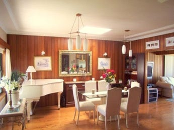 Beige dining room idea from a real Australian home - Dining Room photo 143526