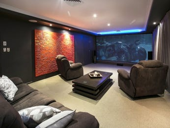 Black living room idea from a real Australian home - Living Area photo 8378061
