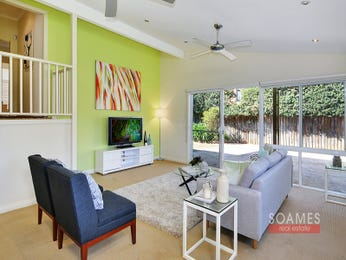 Green living room idea from a real Australian home - Living Area photo 16709373
