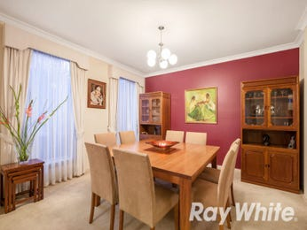 Red dining room idea from a real Australian home - Dining Room photo 16393429