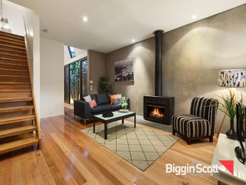 Brown living room idea from a real Australian home - Living Area photo 16809861