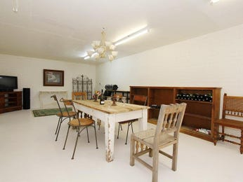 Brown dining room idea from a real Australian home - Dining Room photo 475386