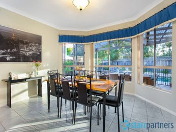 Blue dining room idea from a real Australian home - Dining Room photo 16408817