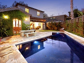 Photo of a geometric pool from a real Australian home - Pool photo 465605