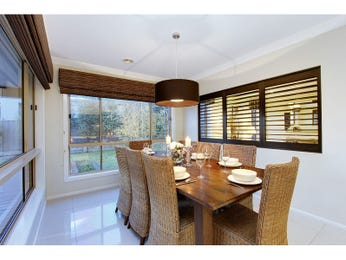 Brown dining room idea from a real Australian home - Dining Room photo 8309081